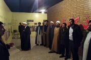 بازدید کارکنان روحانیون یزد از نمایشگاه موزه عبرت + تصاویر
