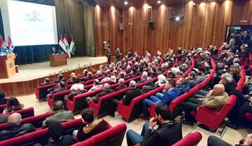 نشست «درود بر فرمانده شهید قاسم سلیمانی» در سوریه برگزار شد
