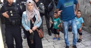 الاحتلال يعتدي على سيدات ويعتقل إحداهن بالبلدة القديمة
