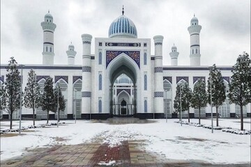 Central Asia's largest mosque will be officially inaugurated in Tajikistan