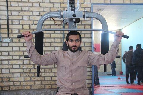 بازدید مدیر حوزه قزوین از جشنواره مسابقات فرهنگی ورزشی سردار دلها