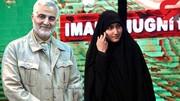 دختران مکتب سلیمانی با خانواده های شهدا دیدار می کنند
