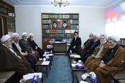 جلسه شورایحوزه علمیه آذربایجان شرقی برگزار شد