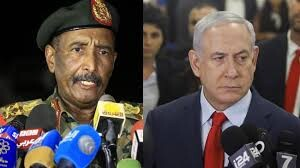 Israel's Netanyahu, Sudan's ruling council chief meet in Uganda, sparkling Palestinian ire