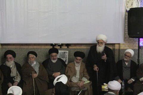 تصاویر/ سیوچهارمین نشست «ستارگان محراب»، تجلیل از آیت الله ضیاءالدین نجفی