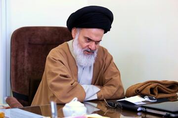 آیت الله حسینی بوشهری درگذشت امام جمعه سابق قنوات را تسلیت گفت
