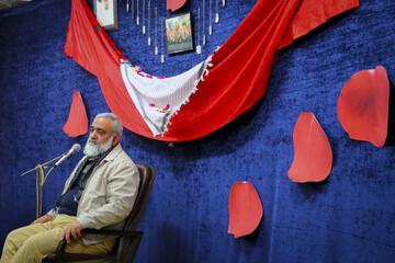 تصاویر/ نشست سیاسی در مدرسه علمیه صدوقی فاز ۵