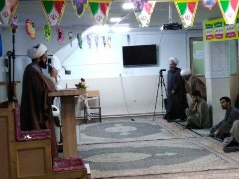 تصاویر/ برگزاری «جشن انقلاب» در مدرسه علمیه امام صادق (ع) بیجار