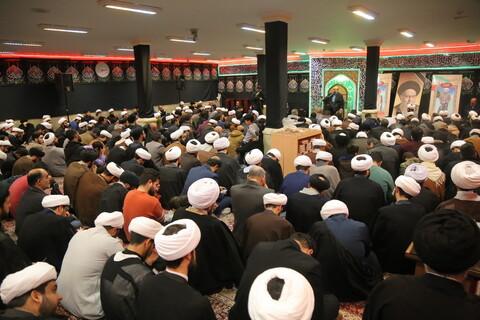 مراسم چهارمین سالگرد ارتحال مرحوم آیت الله سید محمدباقر خوانساری