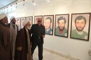 نگارخانه «سردار سلیمانی» در قزوین افتتاح شد
