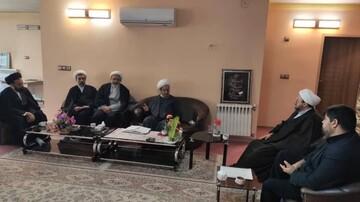 شورای معاونان مرکز مدیریت حوزه اصفهان با آیت الله مقتدایی دیدار کردند