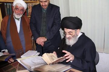 تصاویر/ سفر تولیت کتابخانه آیت الله العظمی مرعشی نجفی(ره) به آران و بیدگل