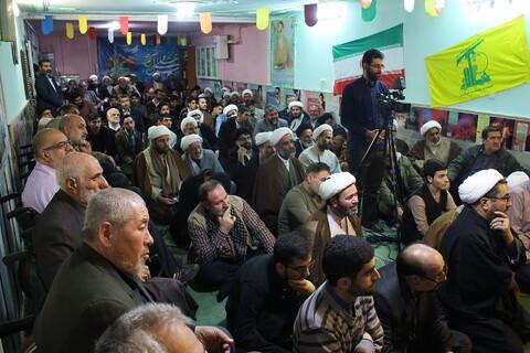تصاویر/ مراسم بزرگداشت چهلمین روز شهادت سردار سلیمانی در مدرسه علمیه جانبازان حضرت ابوالفضل(ع)