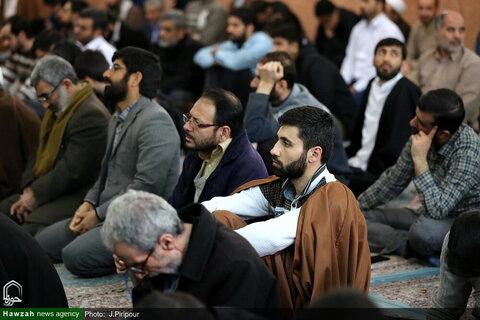 بالصور/ مراسيم الاحتفاء بعشرة الفجر ذكرى انتصار الثورة الإسلامية الإيرانية في مدرسة المعصومية بقم المقدسة