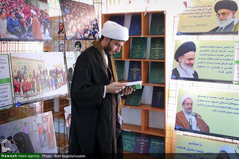 بالصور/ معرض المنتجات البحثية لدائرة التبليغ الديني للحوزات العلمية في البلاد بقم المقدسة