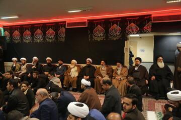 تصاویر / مراسم عزاداری در مدرسه علمیه آیت الله سید محمدباقر خوانساری