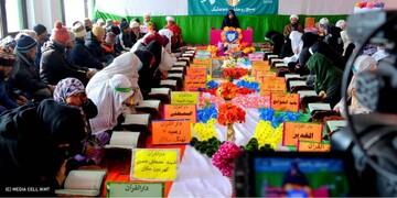 """تصاویر/ مسابقه قرآن """"فجر انقلاب"""" در کرگل هند"""