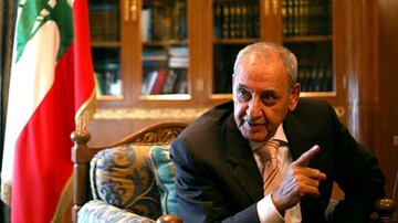 Lebanese parliament speaker congratulates Islamic Revolution anniv