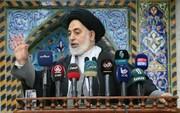 امام جمعه نجف اشرف: آمریکا در آستانه فروپاشی است