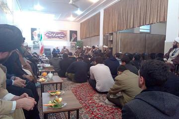 فاز اول مدرسه علمیه امام صادق(ع) شهرستان مهریز افتتاح شد+ تصاویر