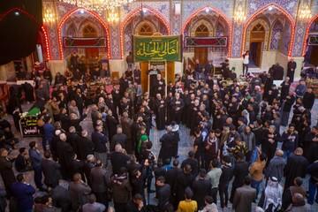 سوگواری مردم حله در عزای حضرت امالبنین+ تصاویر
