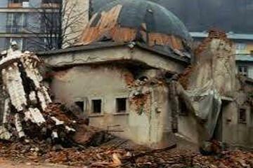 صربها چگونه مساجد سربرنیتسا را تخریب کردند