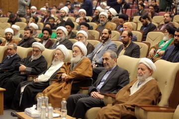 گزارش ویدئویی از اربعین شهیدان حاج قاسم سلیمانی و ابومهدی المهندس در قم