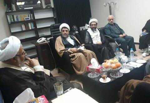 تصاویر/ دیدار حجت الاسلام والمسلمین فاضل و نماینده ولی فقیه در استان هرمزگان