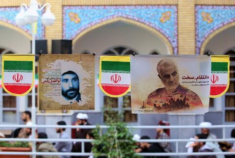 تصاویر/ گرامیداشت ایام الله دهه فجر در مدرسه امام حسین (ع)
