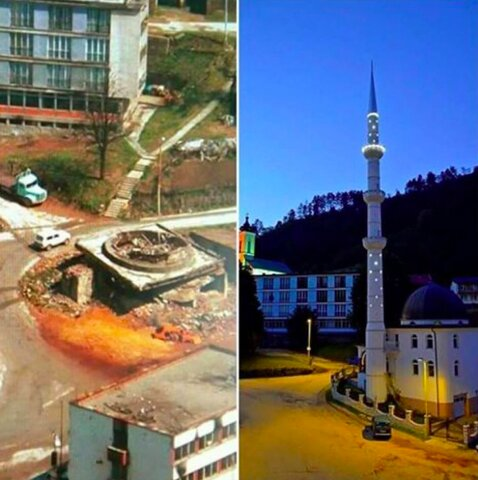صرب ها چطور مساجد سربرنیتسا را تخریب کردند