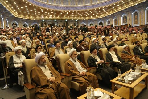 مراسم اربعین شهید سلیمانی و ابومهدی المهندس در قم