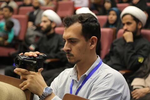 فعالیت خبرنگاران در مراسم اربعین شهیدان حاج قاسم سلیمانی و ابومهدی المهندس
