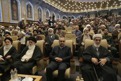مراسم اربعین شهید حاج قاسم سلیمانی و ابومهدی المهندس و حمایت از جبهه مقاومت در قم