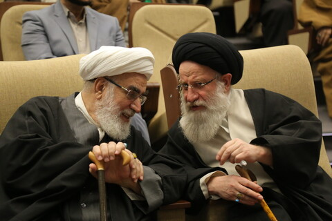 تصاویر / مراسم اربعین حاج قاسم سلیمانی و حمایت از جبهه مقاومت توسط آیت الله العظمی مکارم شیرازی ( 1 )