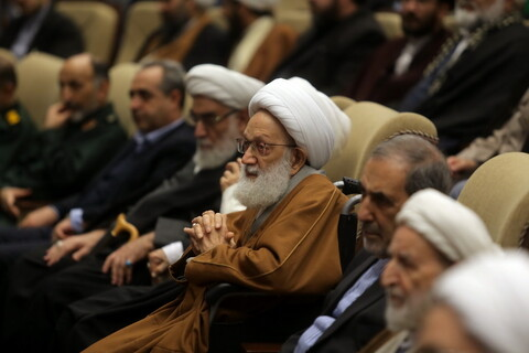 تصاویر / مراسم اربعین حاج قاسم سلیمانی و حمایت از جبهه مقاومت توسط آیت الله العظمی مکارم شیرازی ( 2 )