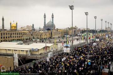 دعوت مدیر جامعة الزهرا بر حضور پرشکوه مردم در راهپیمایی ۲۲ بهمن
