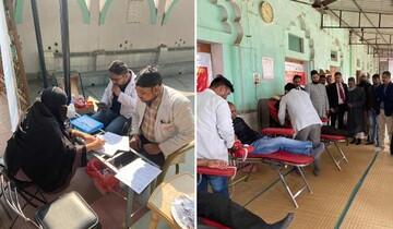 برای نخستین بار مسجد لاکنوی هند کمپین اهدای خون برگزار کرد
