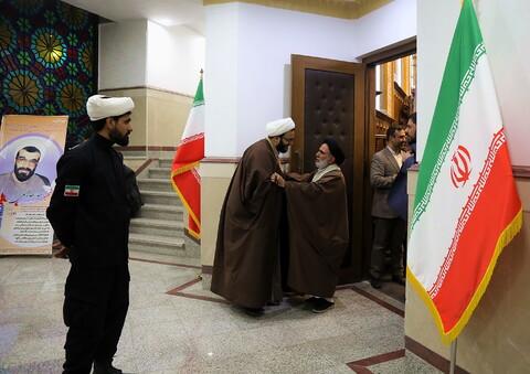 تصاویر/ حاشیه هایی از مراسم اربعین شهیدان حاج قاسم سلیمانی و ابو مهدی المهندس