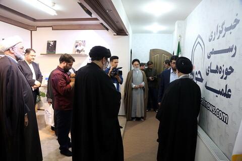 تصاویر/مصاحبه با امام جمعه نجف در خبرگزاری حوزه
