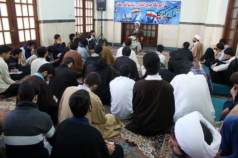 تصاویر/ گرامیداشت ایام الله دهه فجر در مدرسه علمیه رسالت