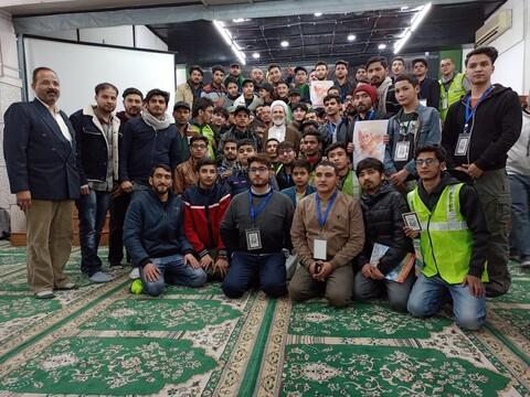 تصاویر/سفرآیت الله اعرافی به هندوستان