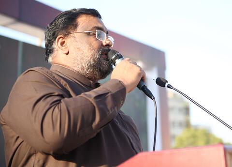 تصاویر/ مراسم چهلم سرداران مقاومت در کراچی پاکستان