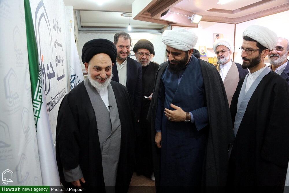تصاویر/بازدید امام جمعه نجف از خبرگزاری حوزه