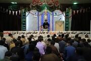 جشن ۲۲ بهمن در مدرسه علمیه امیرالمومنین(ع) تبریز برگزار شد+عکس