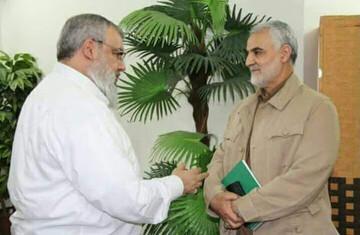 شهید سلیمانی نماد شرف برای جوانان حزبالله لبنان بود