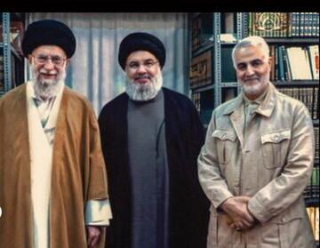 شهید قاسم سلیمانی پرورش یافته مکتب امام خمینی (ره) بود / همیشه حاضر بودم جان خود را فدای حاج قاسم کنم