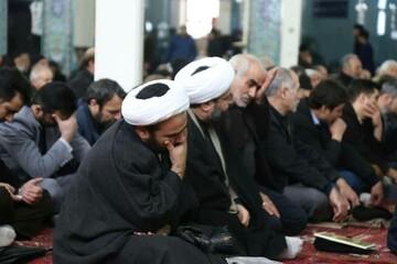 تصاویر / مراسم بزرگداشت چهلمین روز شهادت سردار سپهبد قاسم سلیمانی در اهر