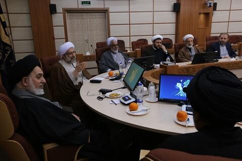 تصاویر/ دیدار امام جمعه نجف اشرف با رئیس جامعه المصطفی العالمیه
