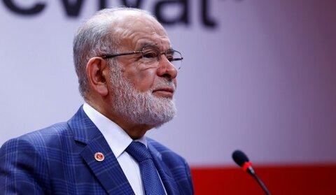 Leader of the Felicity Party (SP) of Turkey Temel Karamollaoğlu