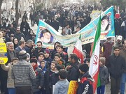 خلق حماسه عظیم مردم کاشان در راهپیمایی ۲۲ بهمن و اربعین سردار